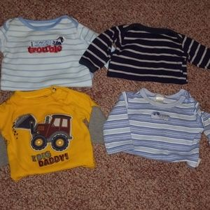 Long sleeve onsie lot